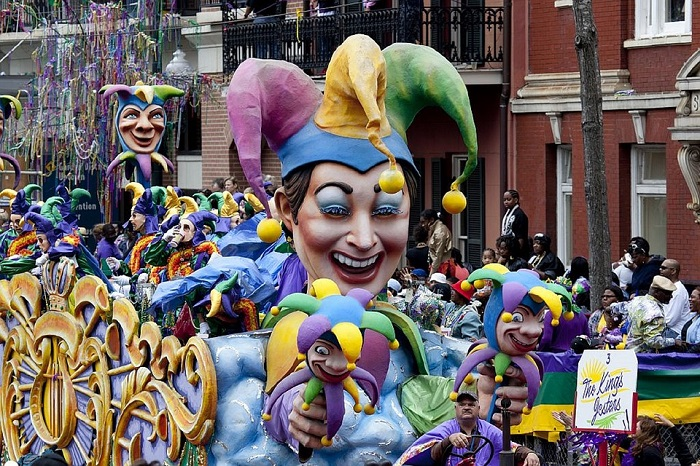 Mardi Gras celebrations in New Orleans, Louisiana