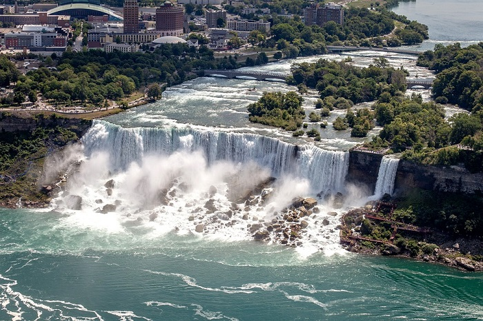 Niagra Falls in New York