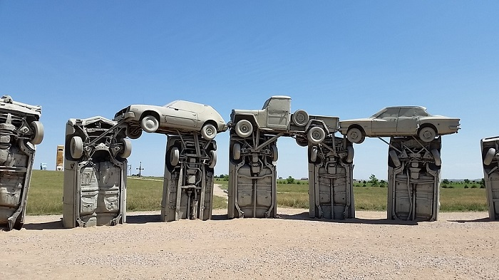 Carhenge in Alliance, Nebraska,