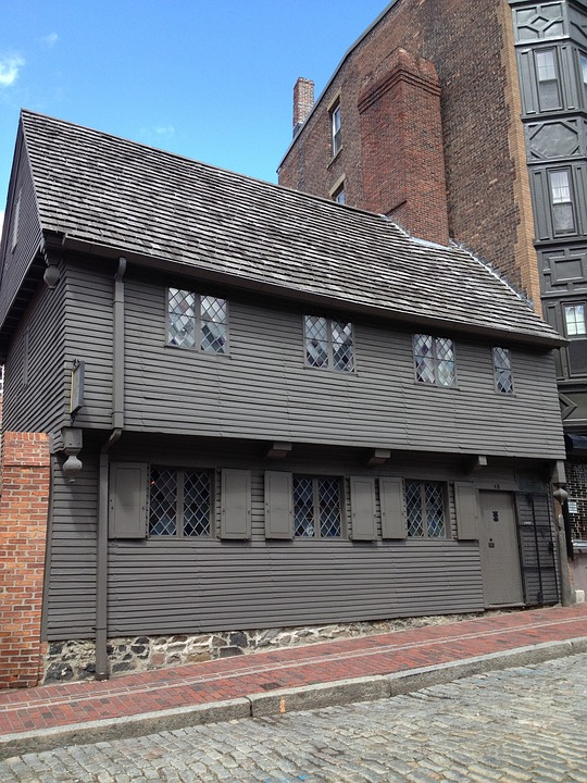 Paul Revere House in Boston, Mass