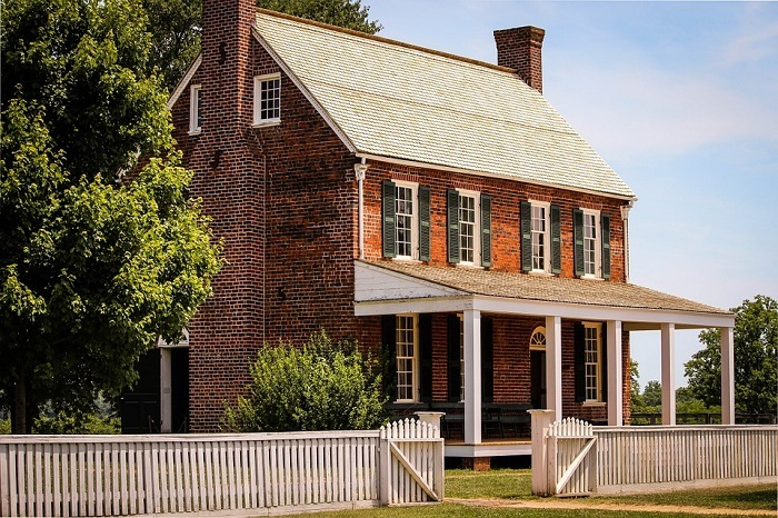 Appomattox Court House in Virginia
