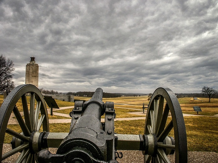 Gettysburg National Battlefield in Pennsylvania