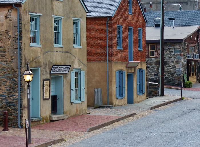 Harpers Ferry in West Virginia