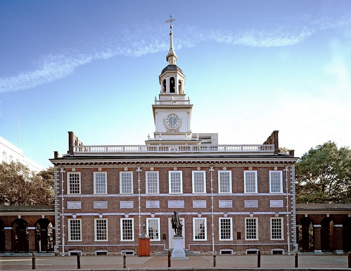 Independence Hall in Pennsylvania