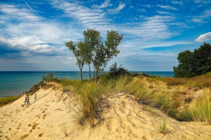 Indiana Dunes State Park in Indiana
