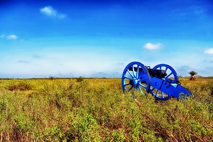 Palo Alto Battlefield in Texas
