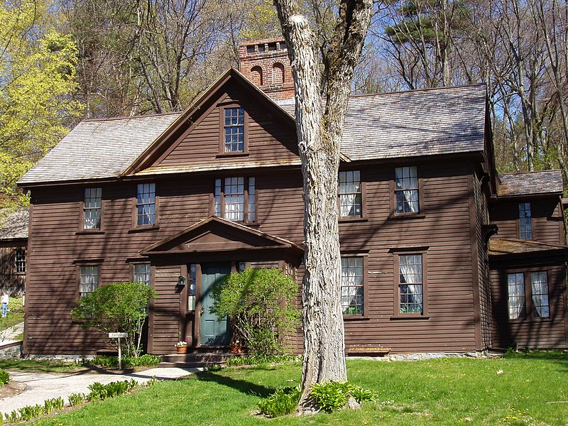 Orchard House in Concord, Mass