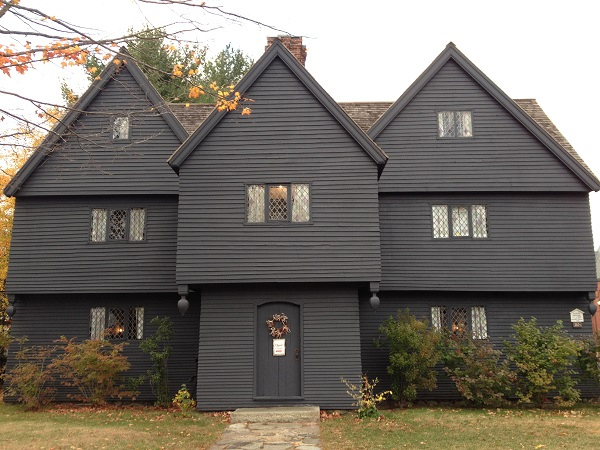 The Witch House in Salem, Mass
