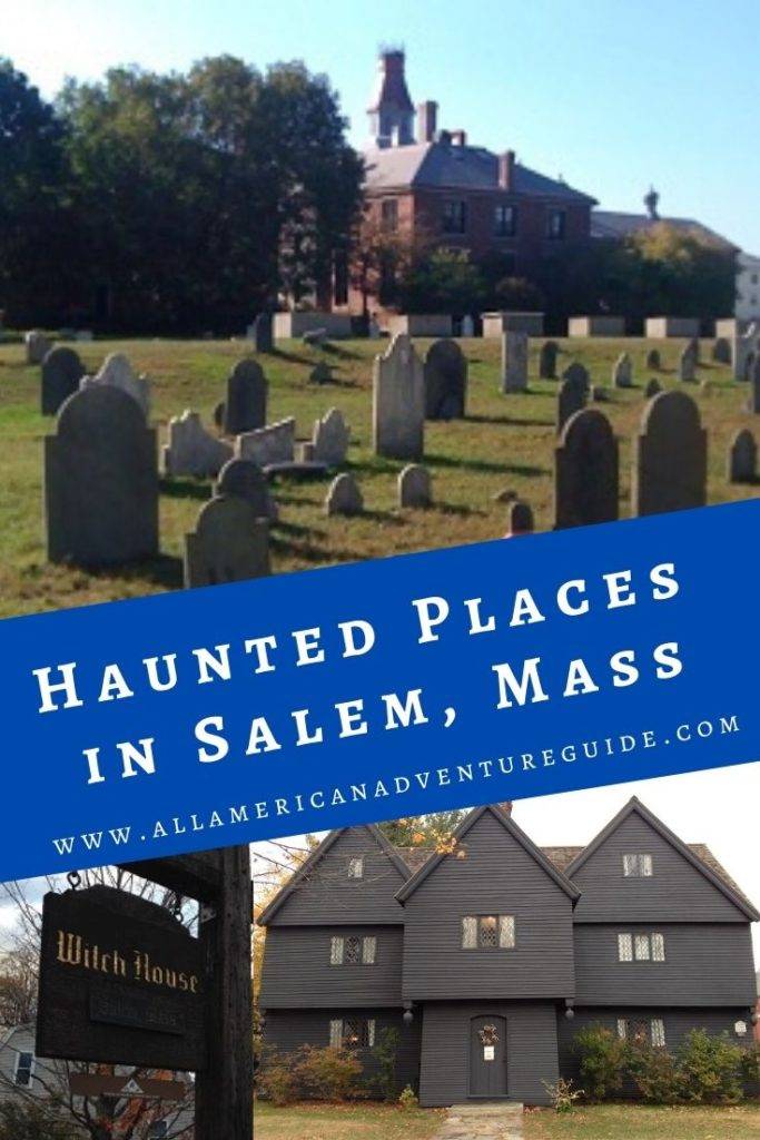 Haunted places in Salem, Mass