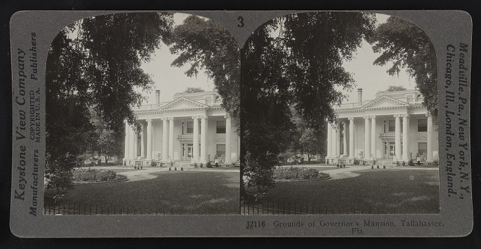 Grounds of the Governor's mansion, Tallahassee, Florida circa 1929