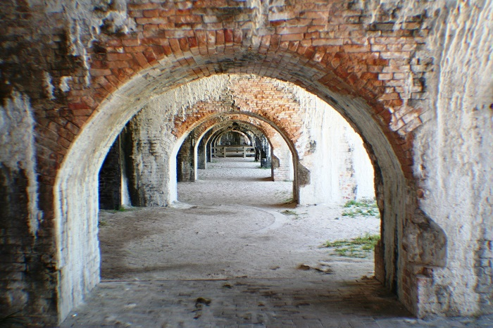 Historic Fort Pickens in Pensacola, Florida